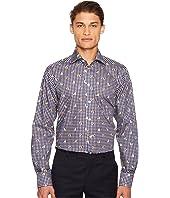 Eton - Contemporary Fit Gingham/Bulldog Shirt