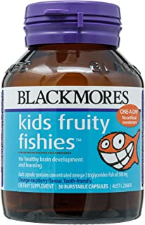Blackmores Kids Fruity Fish, 30ct