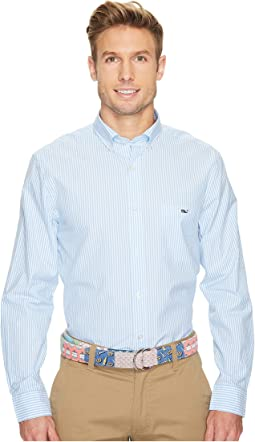 Vineyard Vines - Swordfish Stripe Classic Tucker Shirt