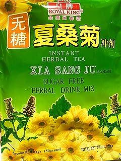 3 Packs Royal king, Xia Sang Ju Mulberry Chrysanthemum SUGAR FREE Herbal Tea 30 sachet