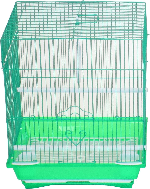 Very popular! YML Green Flat Top Cage Parakeet Ultra-Cheap Deals