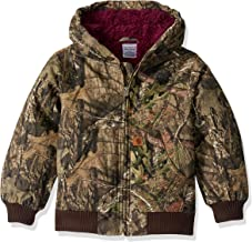 Carhartt Girls' Big Flannel Lined Jacket Coat