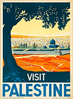 Best visit palestine poster Reviews
