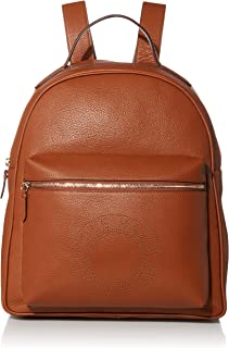 Cole Haan womens Leather Backpack shoulder handbags, Brown, Regular US