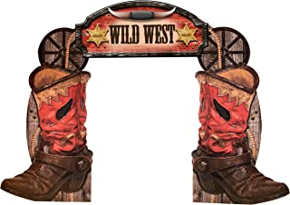 Western Cowboy Boot Arch Standee Standup Photo Op Background Backdrop Party Decoration Decor Scene Setter Prop