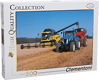 Clementoni 99540.0500Pieces–New Holland TV + CR