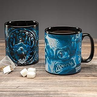 Paladone Dungeons and Dragons Heat Sensitive Mug - Colour Change 550ml (18 5floz) Mug