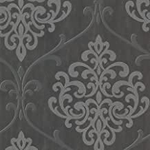 (الفحم) - ورق جدران دمشقي لامع من كينيث جيمس أمبرسيا