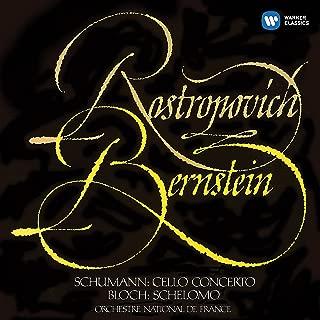 Schumann: Cello Concerto - Bloch: Schelomo