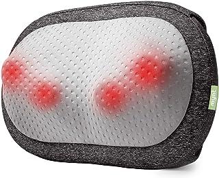 Mynt Cordless Neck Back Massager, Shiatsu Rechargeable Massage Pillow with Heat-3D Deep Kneading, Use Unplugged, iF Design...