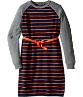 Toobydoo - Stephanie Belted Sweater Dress (Toddler/Little Kids/Big Kids)