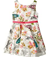 fiveloaves twofish - Fashionista Dress Wild About Paris (Toddler/Little Kids)