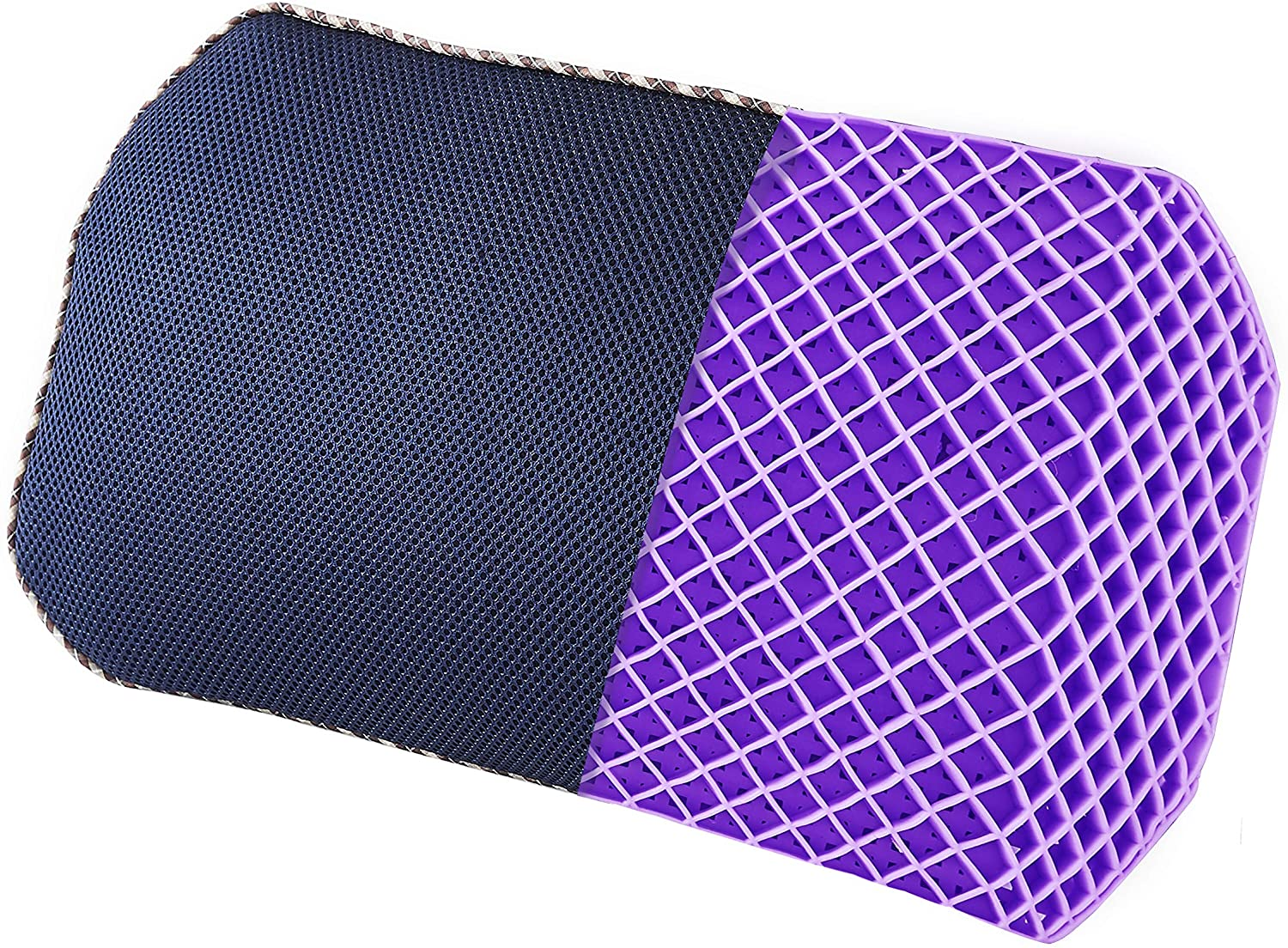 DAPU Purple Lumbar Pillow Back Max 41% OFF Chair Office for Cushion Outstanding Support
