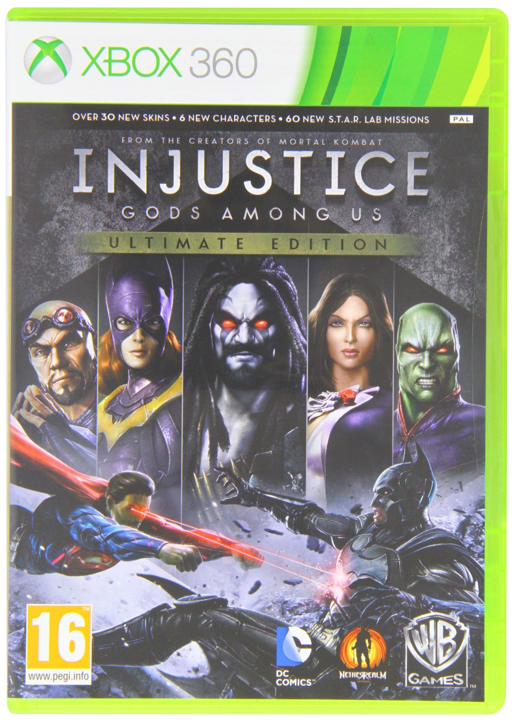 Injustice: Gods Among Us Ultimate Edition (XBOX 360) [importación inglesa]: Amazon.es: Videojuegos