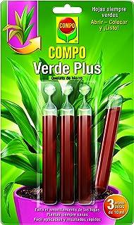 comprar comparacion Compo Fertilizante Plus, Mezcla de nutrientes para Plantas Verdes, 3 monodosis de 10 ml, 24.3x14.4x0.8 cm