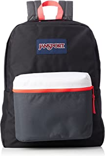 Jansport Exposed Fashion Backpack For Unisex - Black, JS0A3C4X4B7