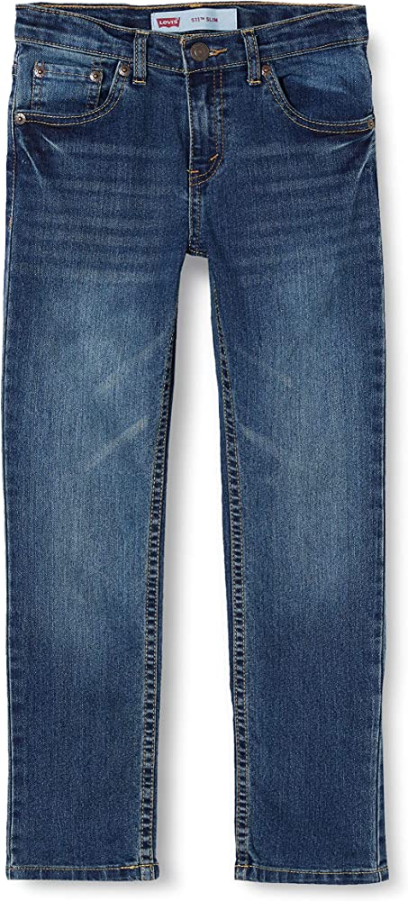 Levi`s kids, jeans per bambino-ragazzo,76% cotone, 23% poliestere, 1% elastan E2006