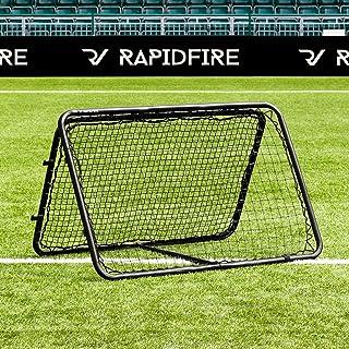 RapidFire Rebounder – Fußball Rebound Netz – neues 2020 Modell - in 3 Größen erhältlich