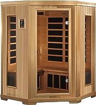 Golden Designs AMZ-GDI-3356-01 Brandenburg 3-Person Far Infrared Sauna
