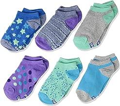 Keds Girls' Big 6 Pack Stars Low Show Socks