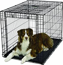 "Ovation Folding Dog Crate | Dog Crate Features Space-Saving Overhead ""Garage"" Style Door & Comes Fully Equipped w/ Replace..."