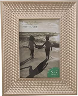 Northlight Champagne Gold Honeycomb Picture Frame- 5