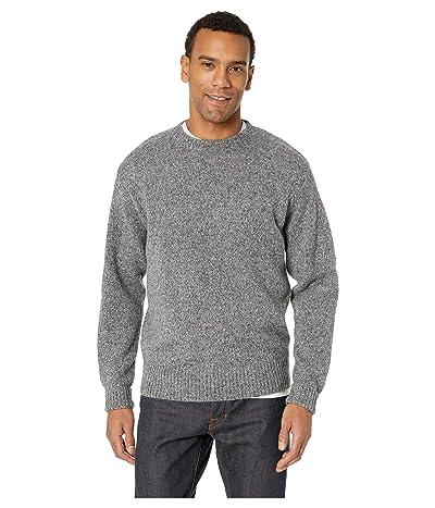 Pendleton Shetland Crew Sweater (Pepper Marl) Men