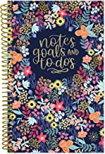 "bloom daily planners Bound to-Do List Book - UNDATED Daily Planning System Tear Off Calendar Pages - 6"" x 8.25"" - Floral Dots"