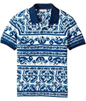Dolce & Gabbana Kids - Capri Maiolica Polo (Toddler/Little Kids)