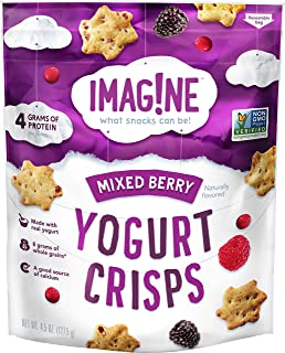 Imag!ne Mixed Berry Yogurt Crisps, 4.5 Ounce Bag
