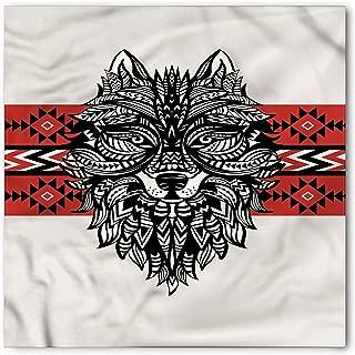 wolf face bandana