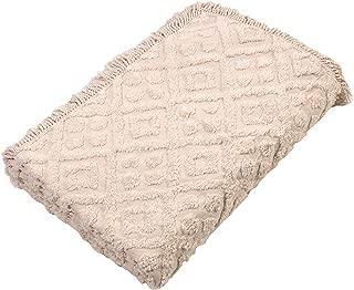 Stylemaster Diamond Bedspread, Twin, Ivory