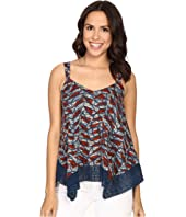 Lucky Brand - Lace Trim Tank Top
