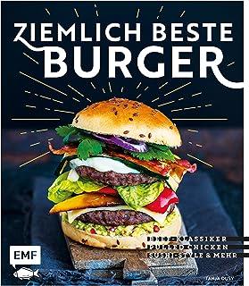 Ziemlich beste Burger: Beef-Klassiker, Pulled Chicken, Sushi