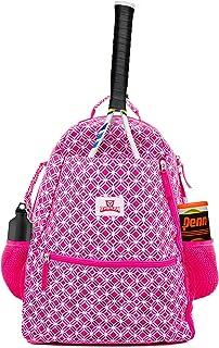 Tennis Racket Backpack for Women – Lightweight Tennis Bag Stores 2 Rackets, Balls, and Sports Gear