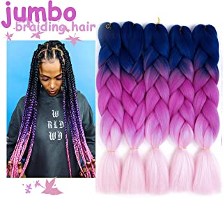 Best ombre jumbo braiding hair Reviews