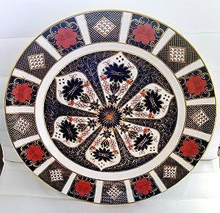 Royal Crown Derby Old Imari de 1128 26,67 cm plato