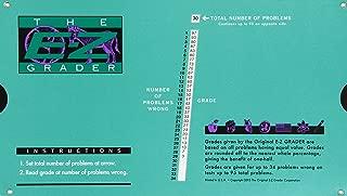 Grading Calculator - E-Z Grader Teacher's Aid Scoring Chart (Original) - 8-1/2