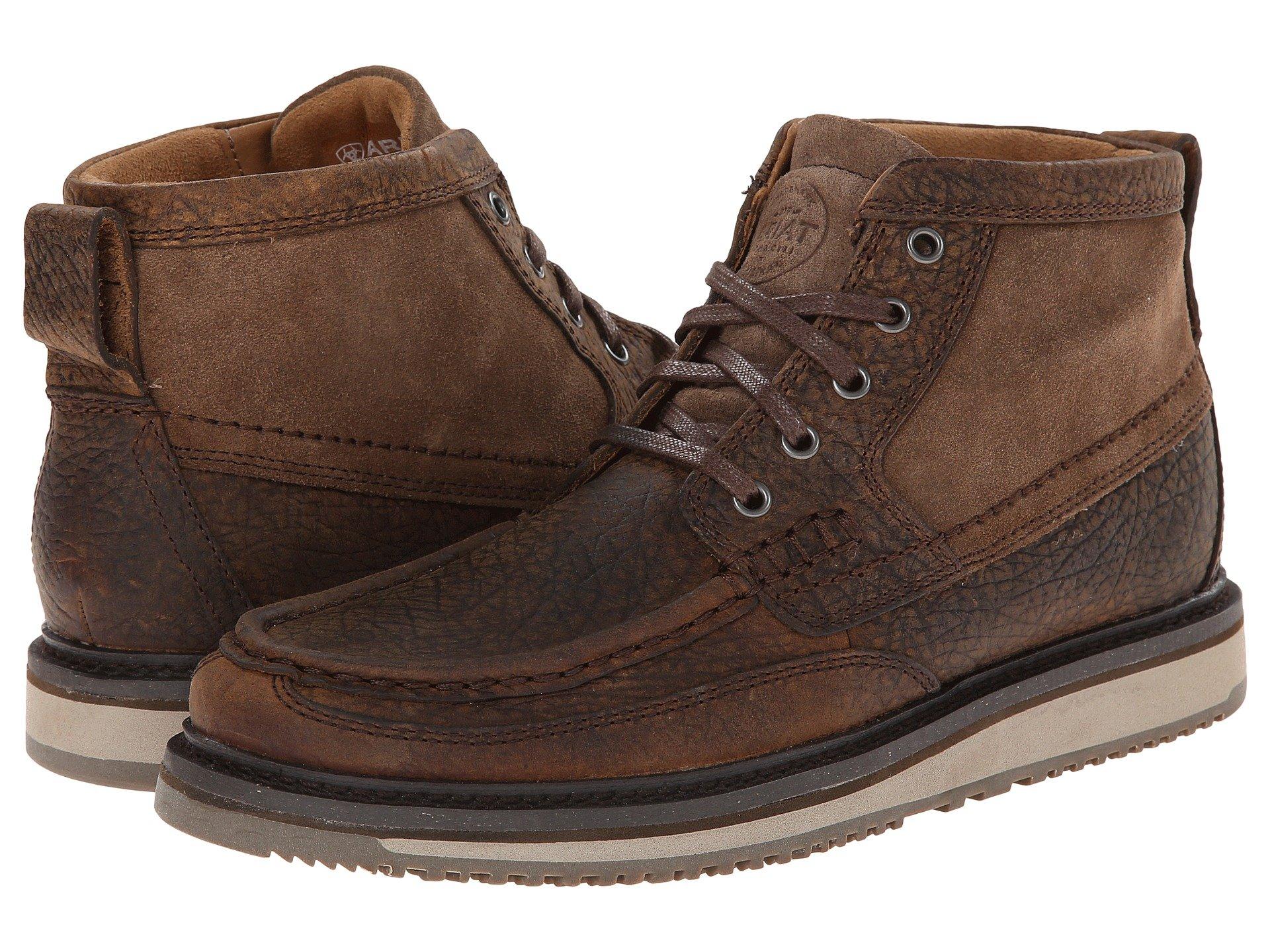 Mens Moc Toe Boots Free Shipping Shoes Zapposcom
