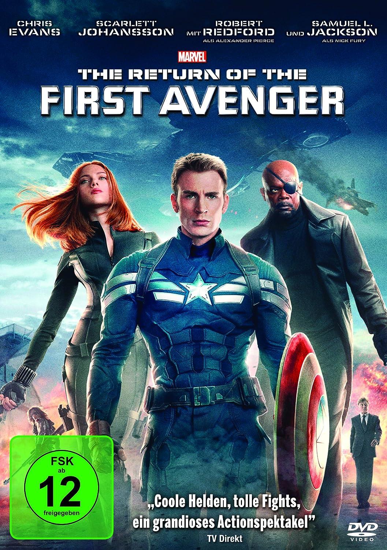 The Return of the First Avenger Coverbild kann abweichen