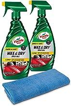 Turtle Wax 50823 - Kit de Cera y Lavado rápido y fácil,