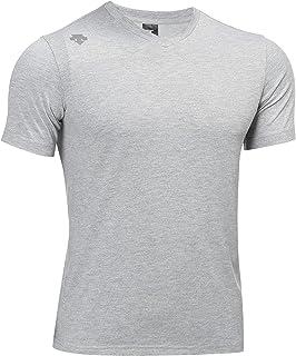 Descente Men's Quick Dry Athletic V-Neck T-Shirt