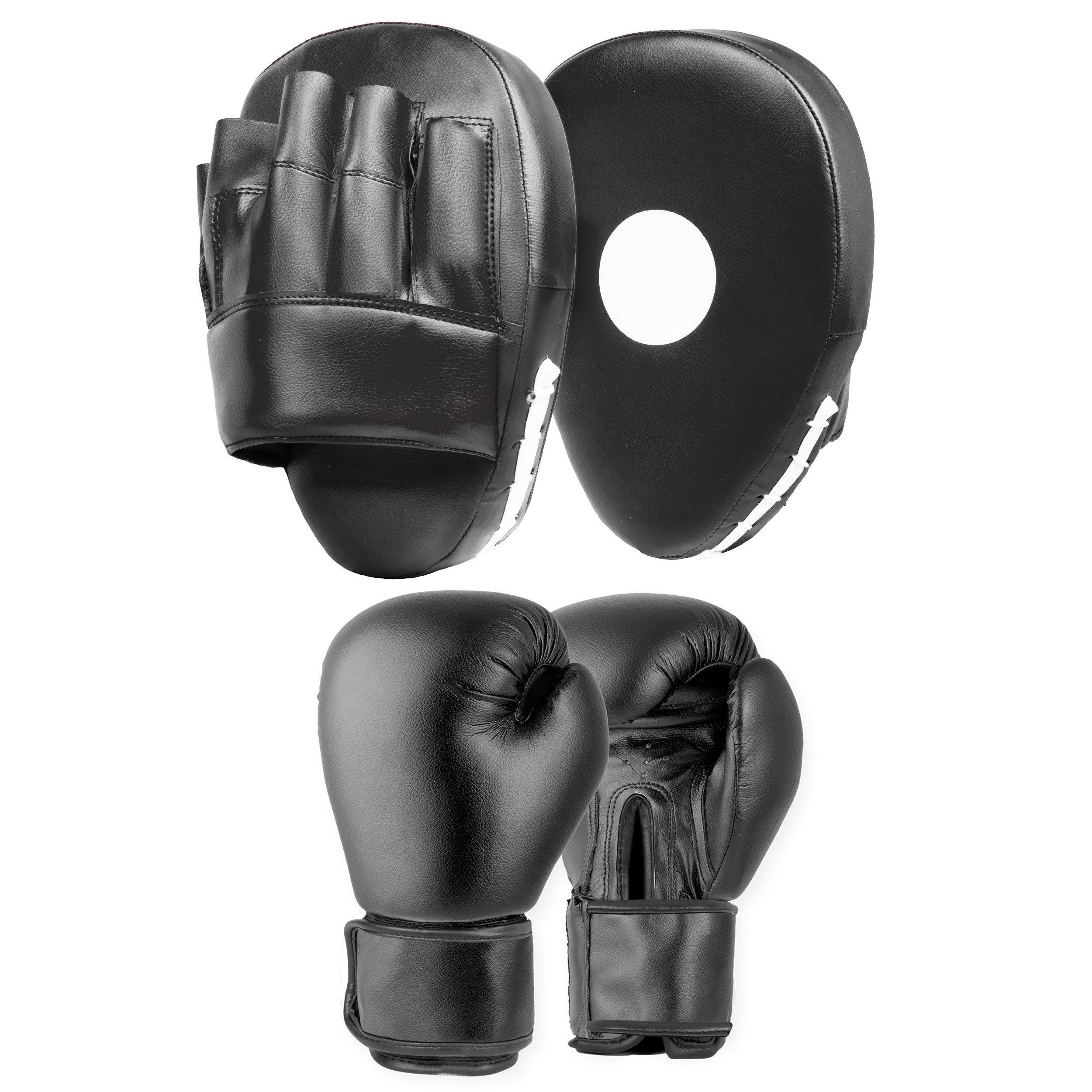 Boxing Gloves Set Focus Pad Set Boxing Gloves For Martial Arts Punch Bag Gloves Punch Pads Boxing Pads Sparring Gloves Boxing Training Gloves