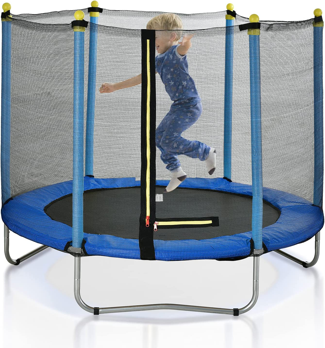 60-inch Max 48% OFF Trampoline for Children with Kids Super special price Enclos