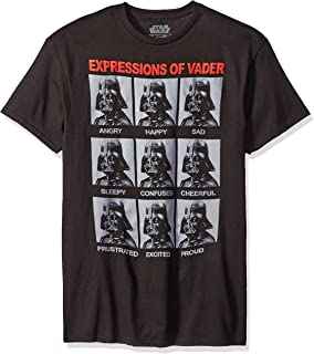 the Many Expressions of Darth Vader Men's T-shirt