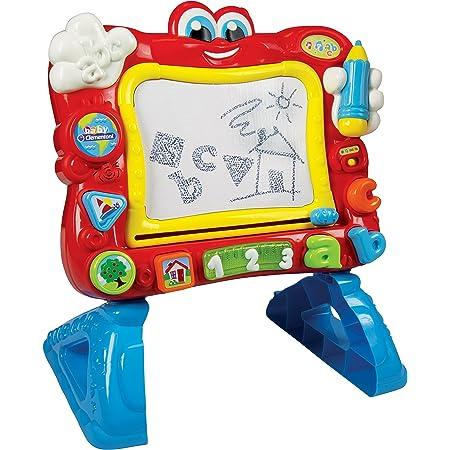 Baby Clementoni-La Ardoise Cantarine Jeu interactif pour enfants, multicolore (55131.6)