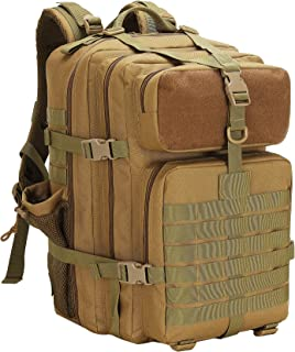 حقيبة ظهر عسكرية تكتيكية للرجال 45L ، حقيبة ظهر للتنزه لمسافات طويلة ، حقائب ظهر يومية للنشاطات الخارجية