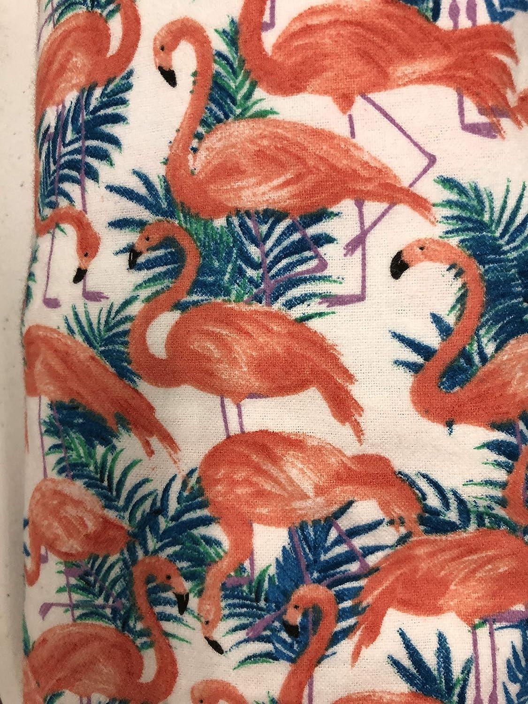 Flannel Many popular brands Crib Sheet Flamingo - Superior