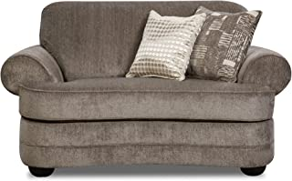 Simmons Upholstery Kingsley Pewter Chair and Half, Pewter