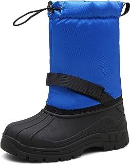 MARITONY Girls Boys Snow Boots Waterproof Slip Resistant Warm Winter Boots for Toddler Kids Children
